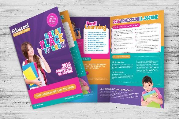 education brochure templates
