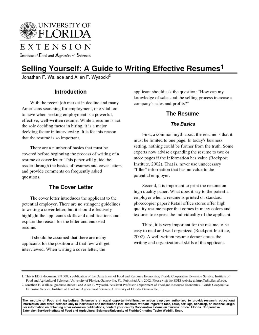 Effective Resume Samples How to Write An Effective Resume All Resume Simple