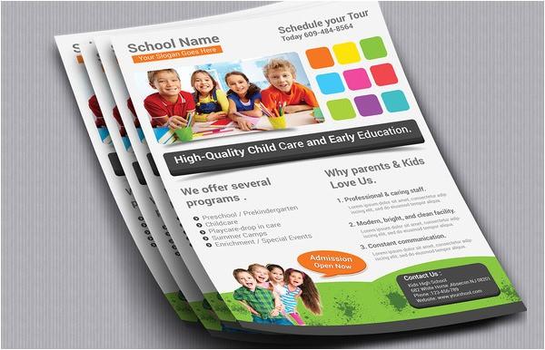 post free brochure templates school use 125726
