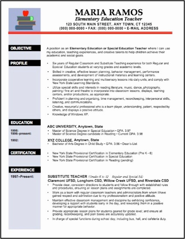 teaching resume objective education resume template word teacher teacher resume template 2016