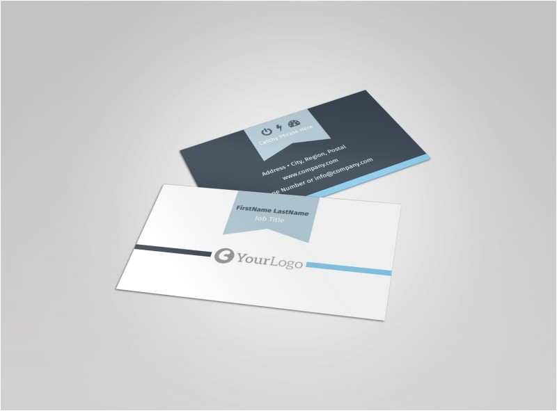 civil engineers business card template
