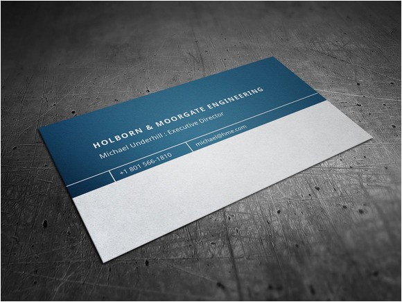 Engineering Business Card Template Corporate Engineering Business Card Business Card