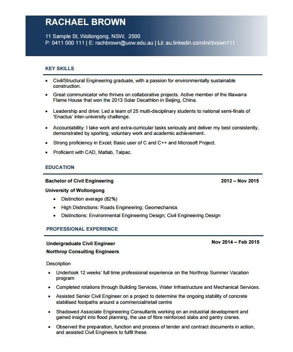 resume pdf template