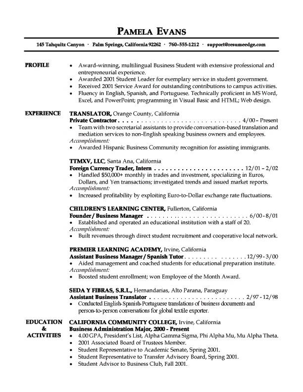 Entry Level Resume Templates Free Entry Level Resume Sample Entry Level Resume