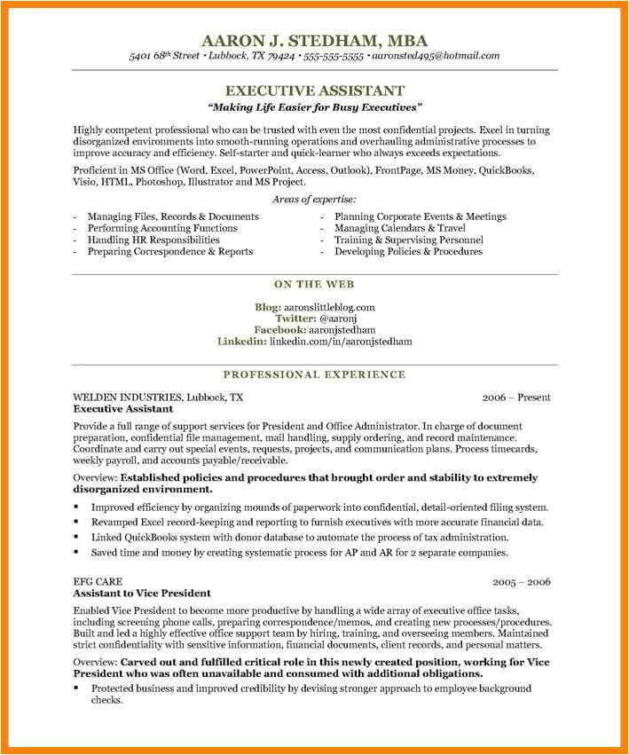 Executive assistant Resume Samples 2016 5 Executive assistant Resume Samples 2016 Points Of origins