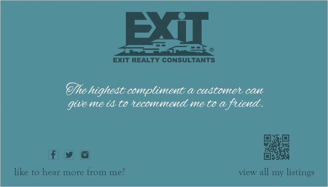 Exit Realty Business Cards Template Exit Realty Business Card 13 Exit Realty Business Card