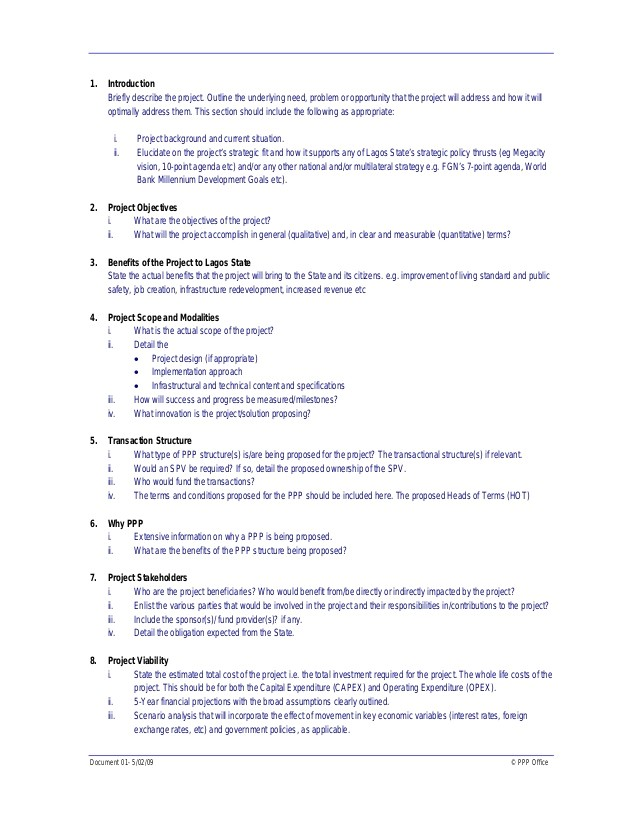 4199 capital expenditure proposal template