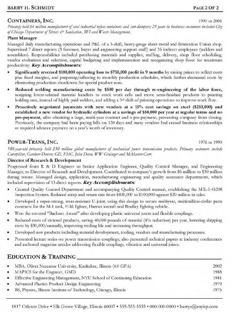 Fabrication Engineer Resume Sample Sample Resume October 2014