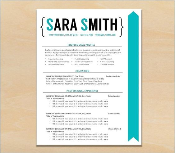 Fancy Resume Templates Resume Template Cv Template Instant by theresumeshoppe On