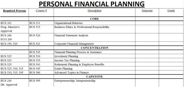 Financial Proposal Template Excel 8 Financial Plan Templates Excel Excel Templates