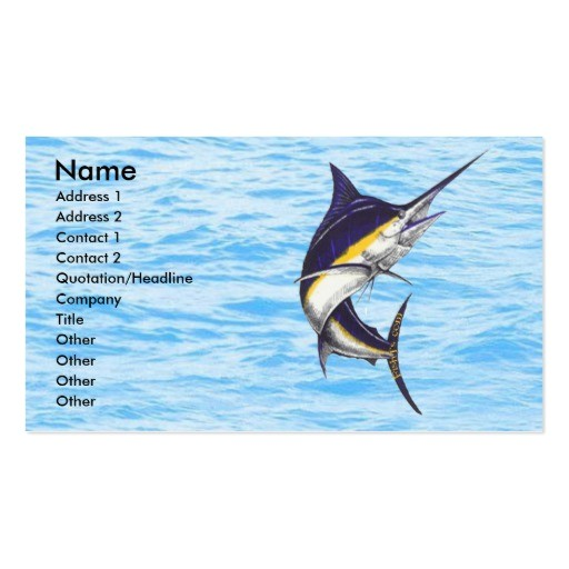 fishing businesscards
