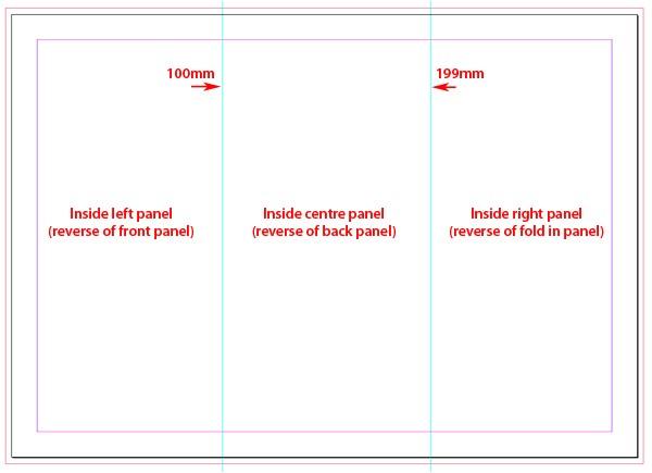 p indesign tri fold brochure size 13202