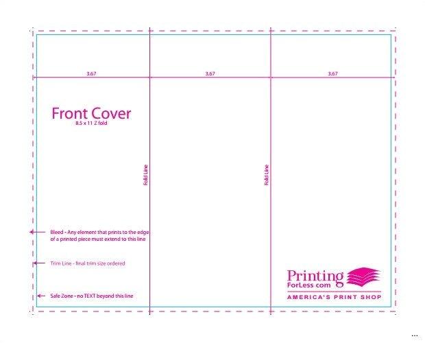 z fold brochure template full 4 panel indesign 9 3 adobe