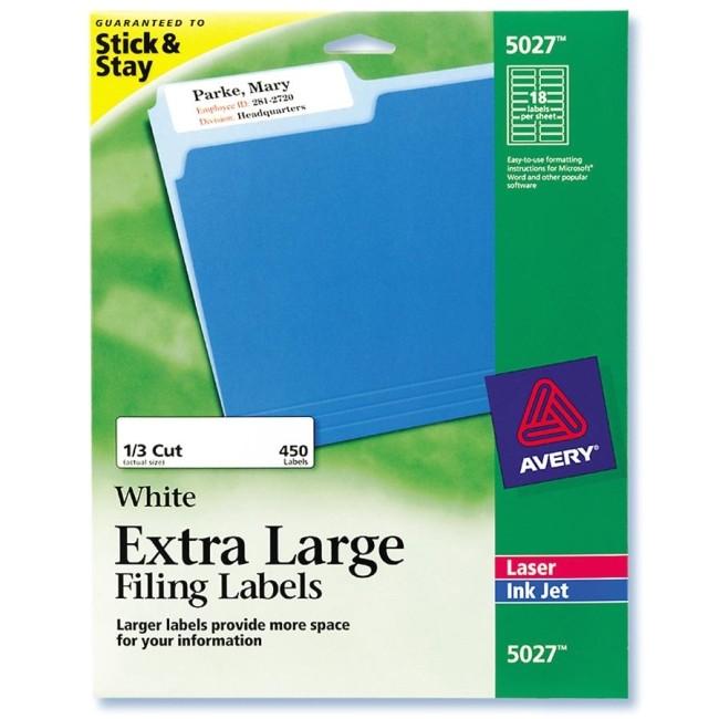 Free Avery Label Templates 5027 Printer