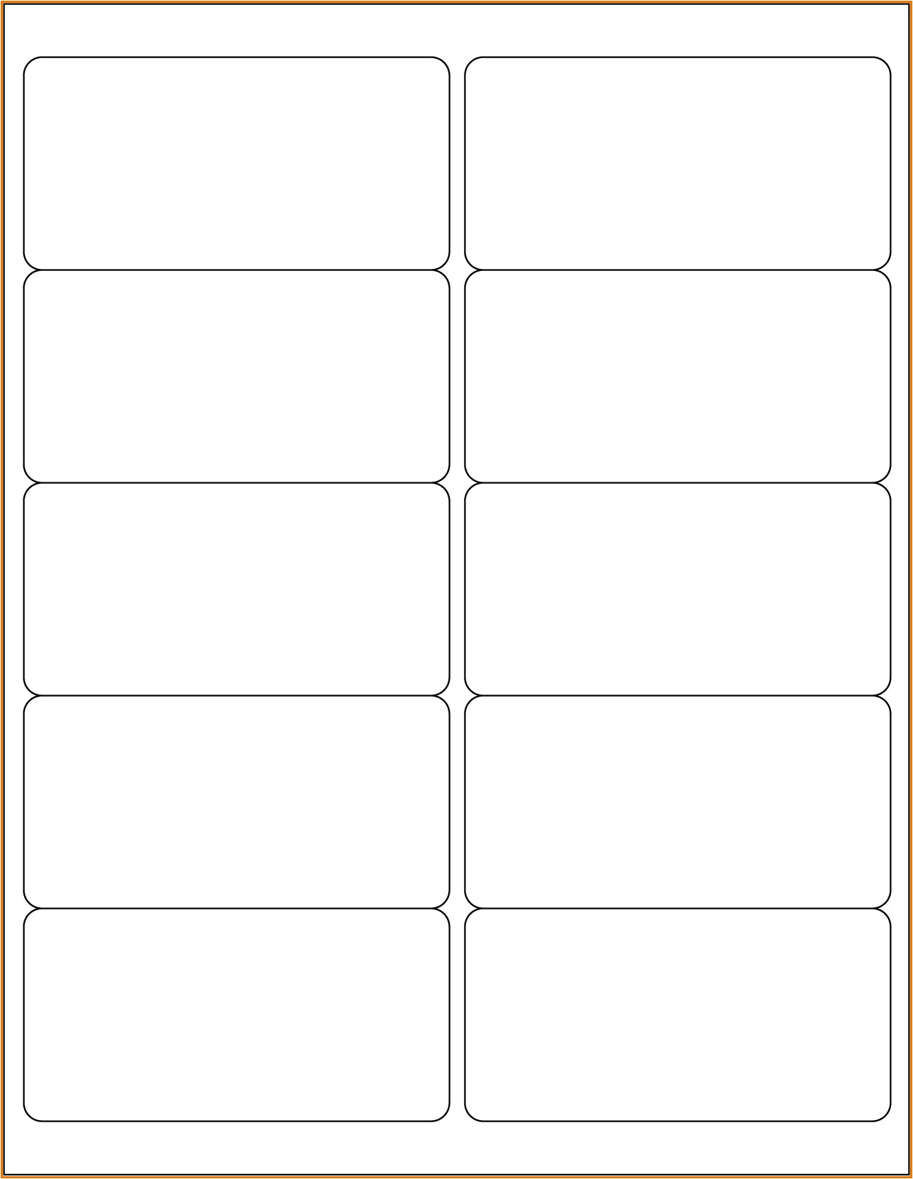 Free Avery Label Templates for Word Blank Avery 5163 Template Word Bing Images