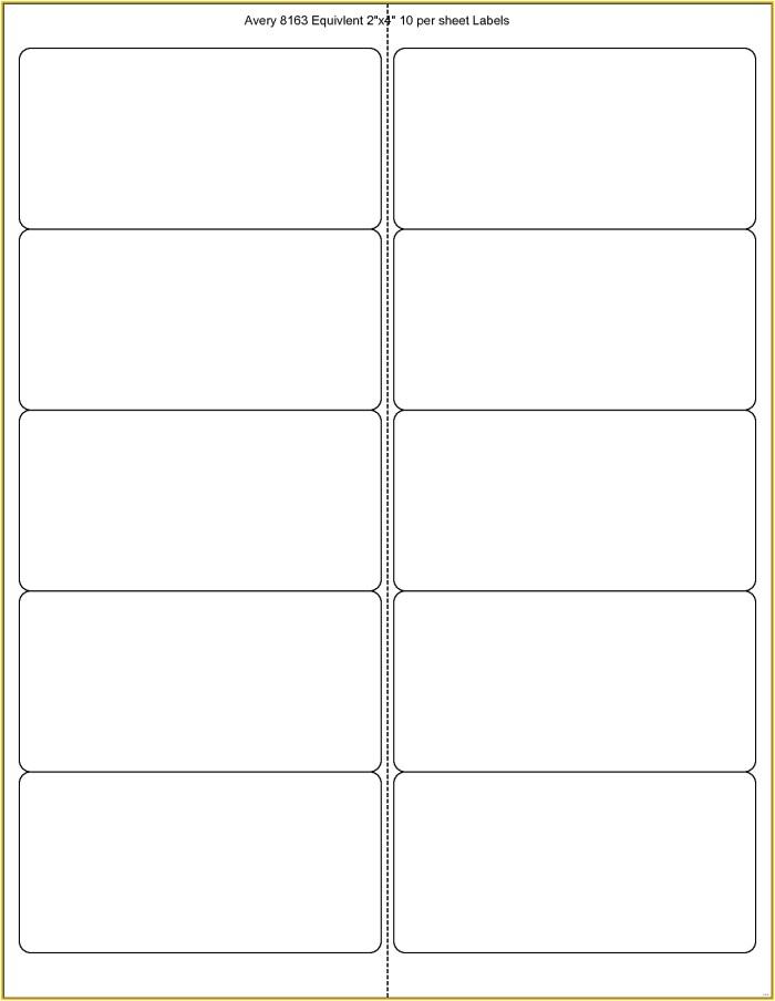 avery template 8163 blank