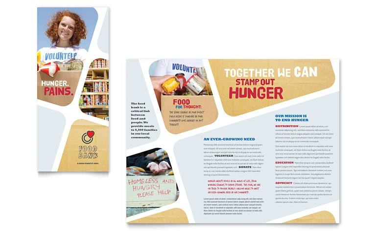 food bank volunteer brochure templates np0030101d