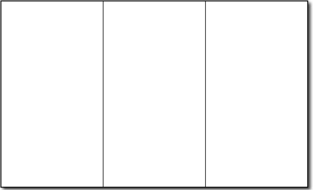 blank brochure templates a4