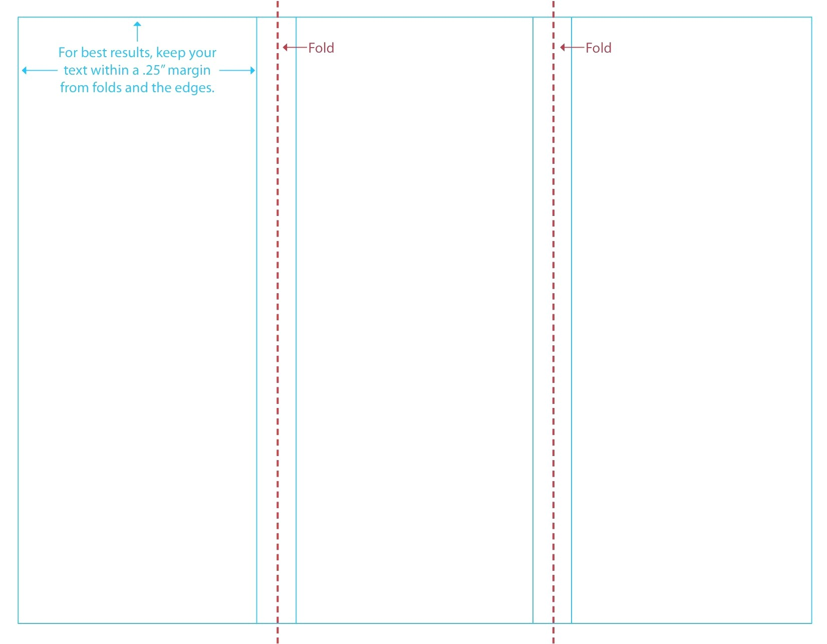 blank brochure templates example