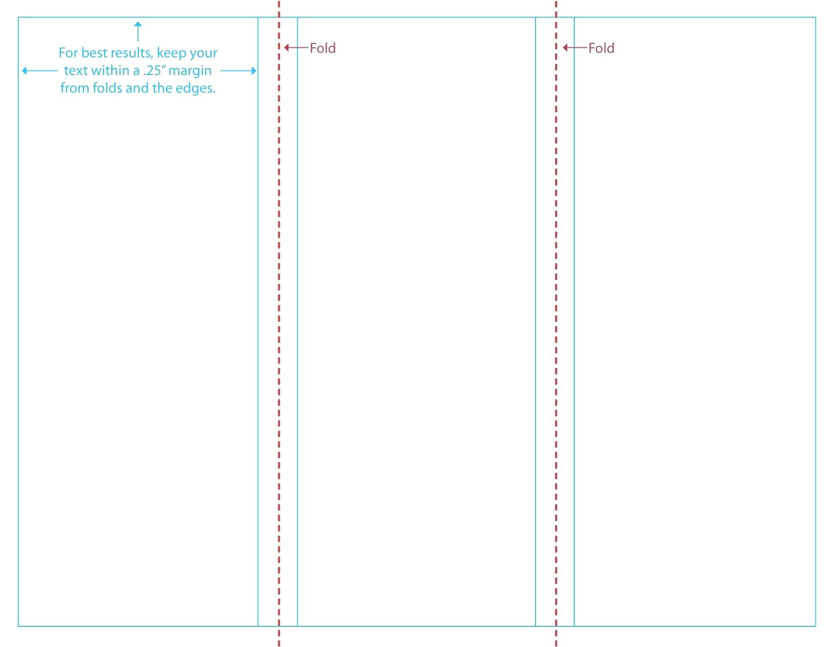 blank brochure templates example
