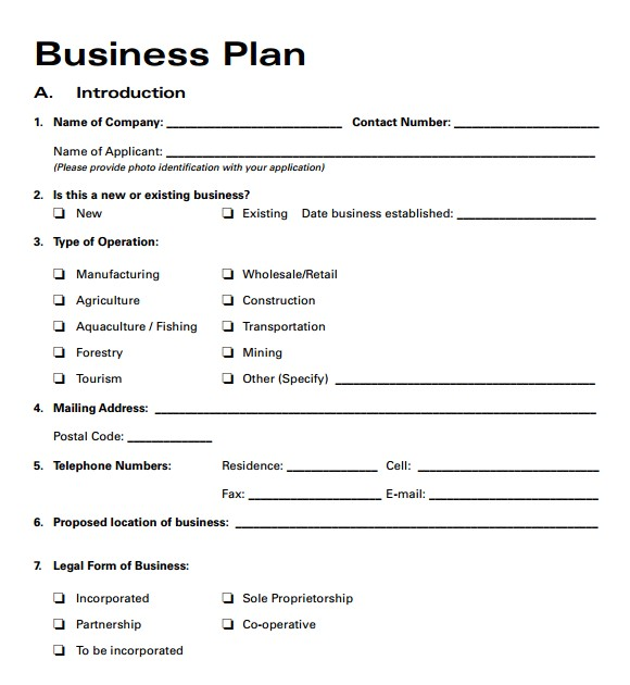 Free Business Plan Templates for Small Businesses Free Business Plan Templates 2016 Free Business Template