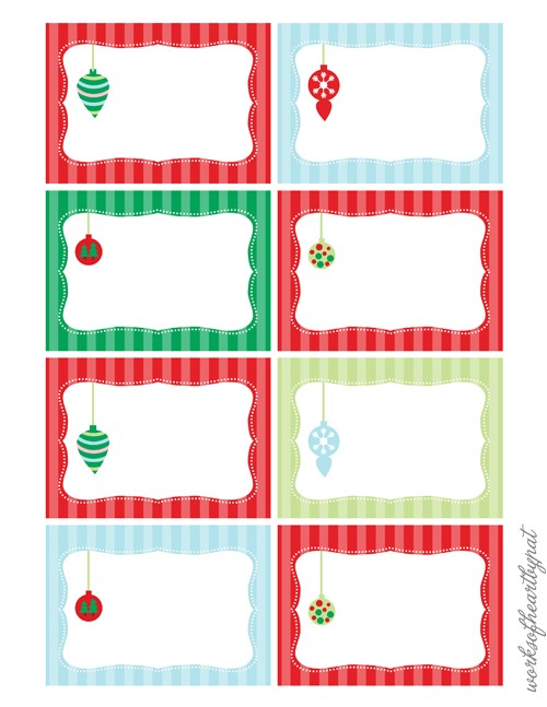 Free Christmas Label Templates Avery Labels 7 Best Images Of Free Printable Christmas Labels Free