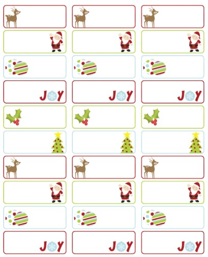Free Christmas Label Templates Avery Labels Christmas Labels for Free by Ink Tree Press Worldlabel Blog
