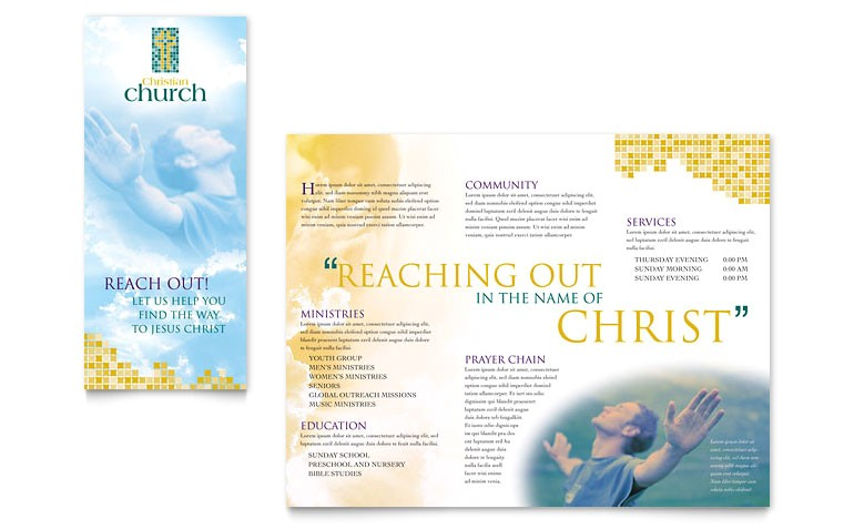 christian church brochure templates ro0010102d
