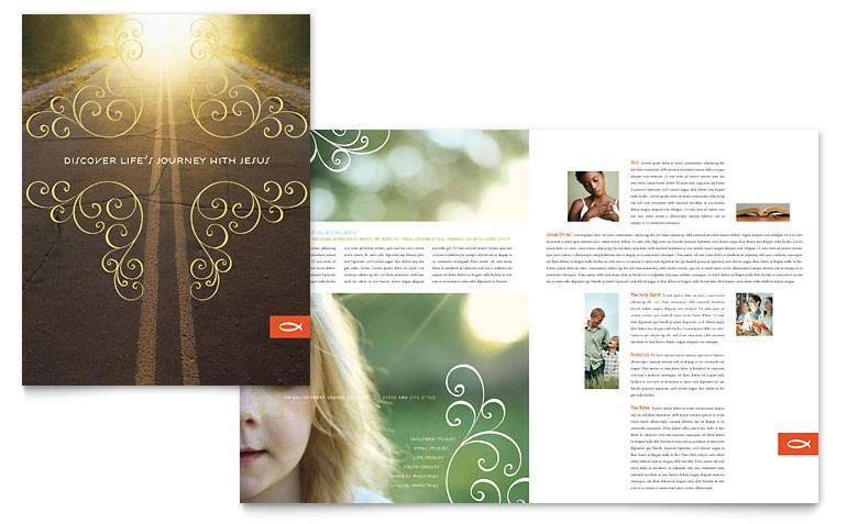 christian church religious brochure templates ro0110101d
