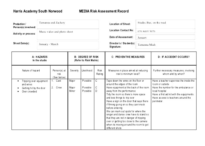 privacy impact assessment template
