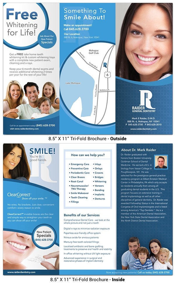 dental marketing brochures