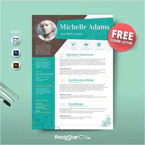 Free Download Creative Resume Templates Resume Template Free Cover Letter Resume Templates