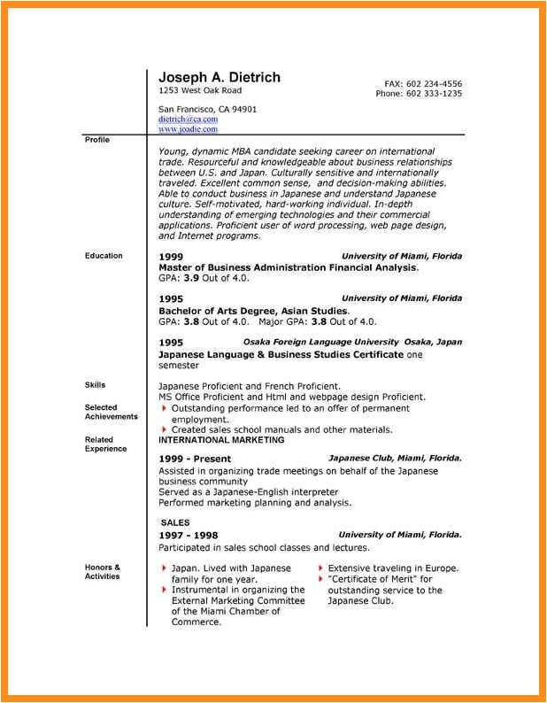Free Download Resume Templates for Microsoft Word 2010 6 Download Resume Templates for Microsoft Word 2010 Odr2017