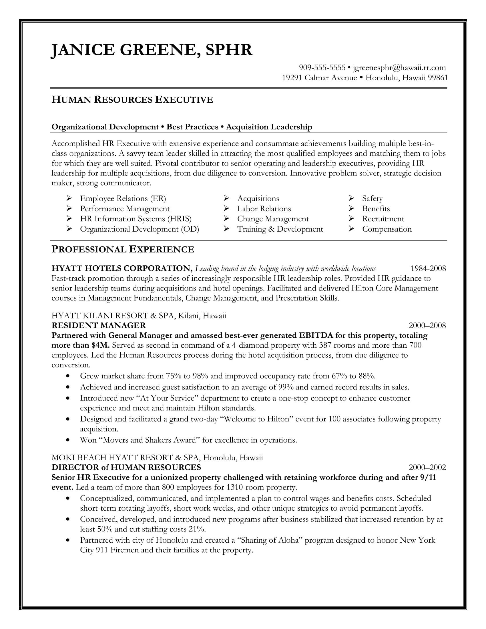 Free Executive Resume Templates 24 Best Sample Executive Resume Templates Wisestep