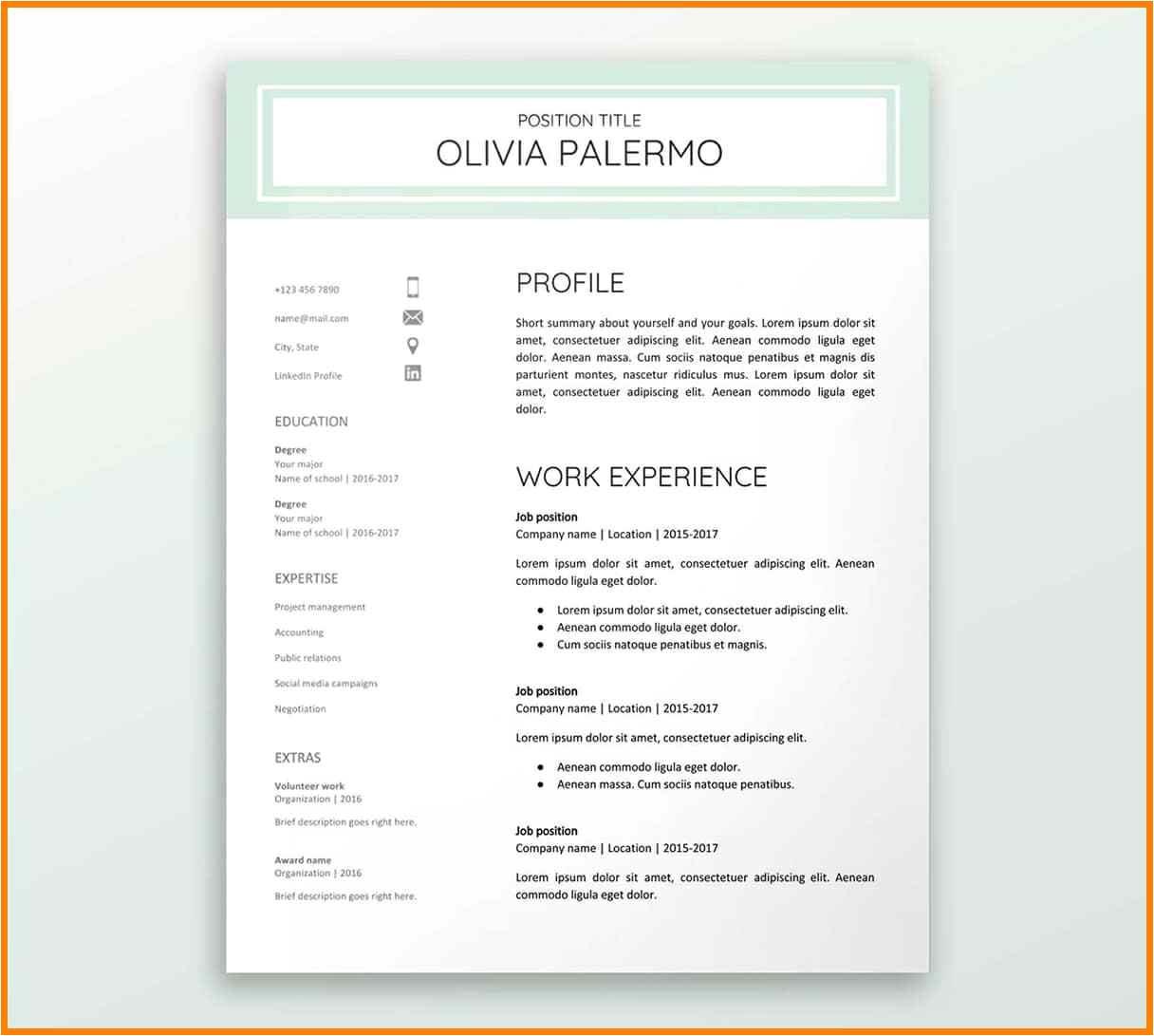Free Google Resume Templates 5 Google Resume Templates Pear Tree Digital