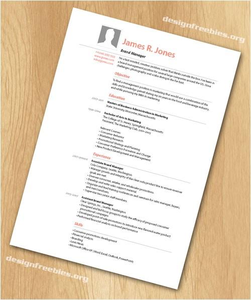 job application template indesign