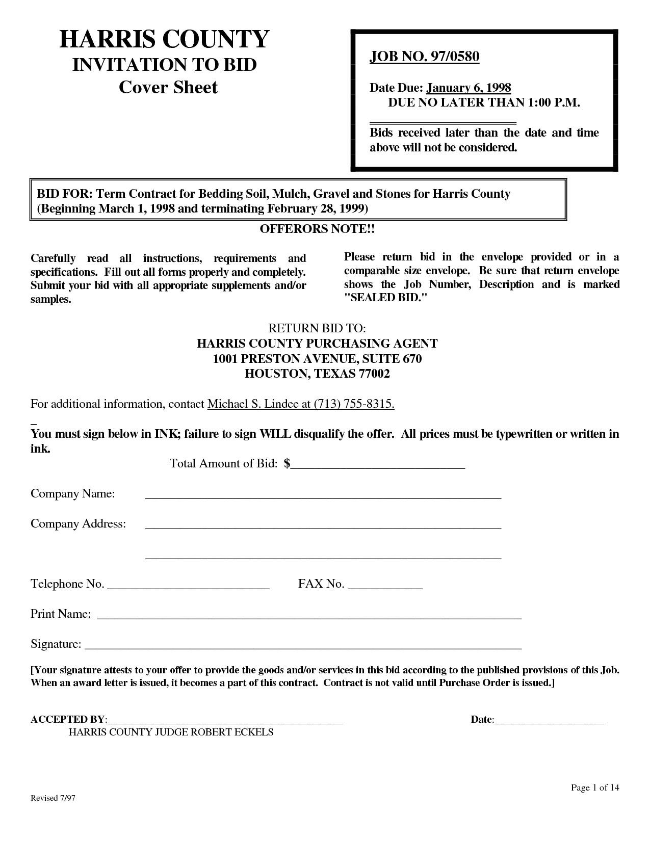 post landscaping job proposal template 816348