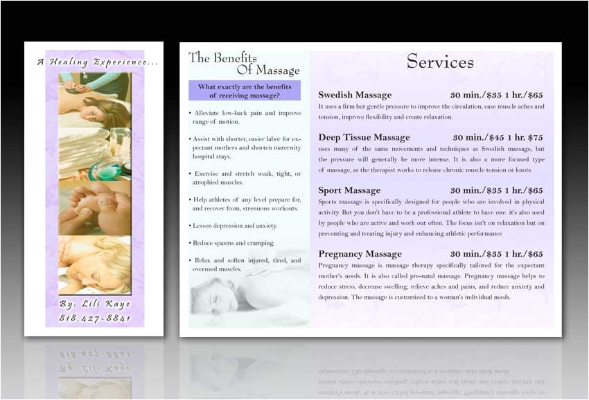 Free Massage therapy Brochure Templates 10 Best Images Of Massage therapy Brochure Ideas Massage