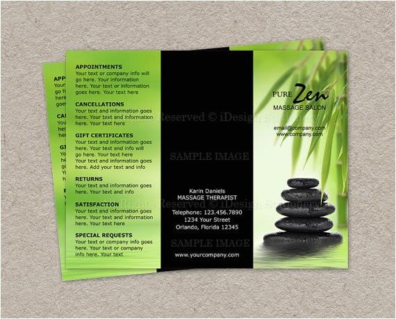 post spa brochure design 22506