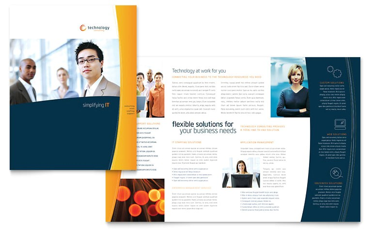free word brochure templates download