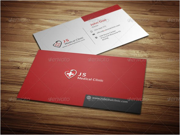 Free Medical Business Card Templates Printable 17 Medical Business Card Templates Sample Templates