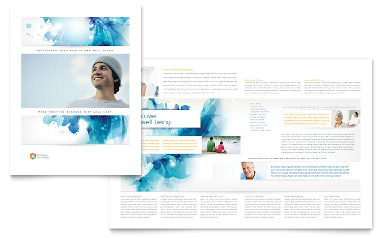 behavioral counseling brochure templates md0340101d