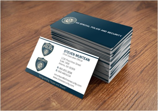 Free Police Business Card Templates Free Police Officer Business Cards Templates