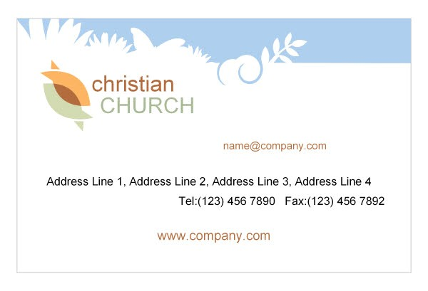 Free Printable Religious Business Card Templates Christian Business Cards Templates Free 28 Images 9