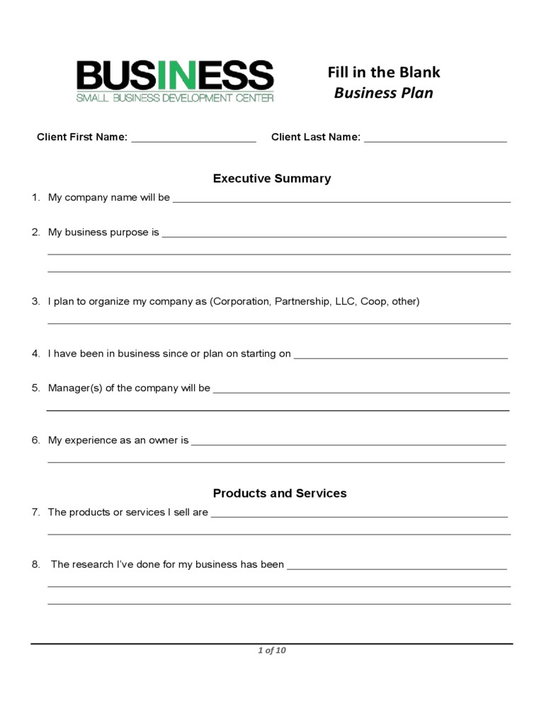 business plan proposal sample