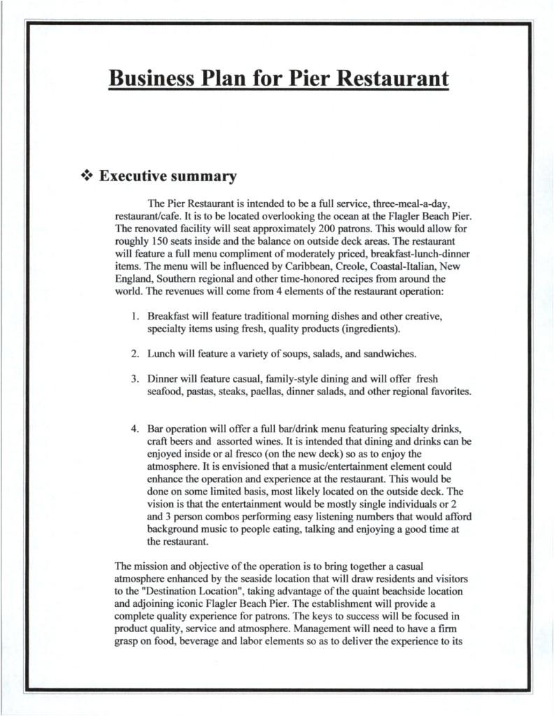 Free Restaurant Business Plan Template Word top 5 Resources to Get Free Restaurant Business Plan