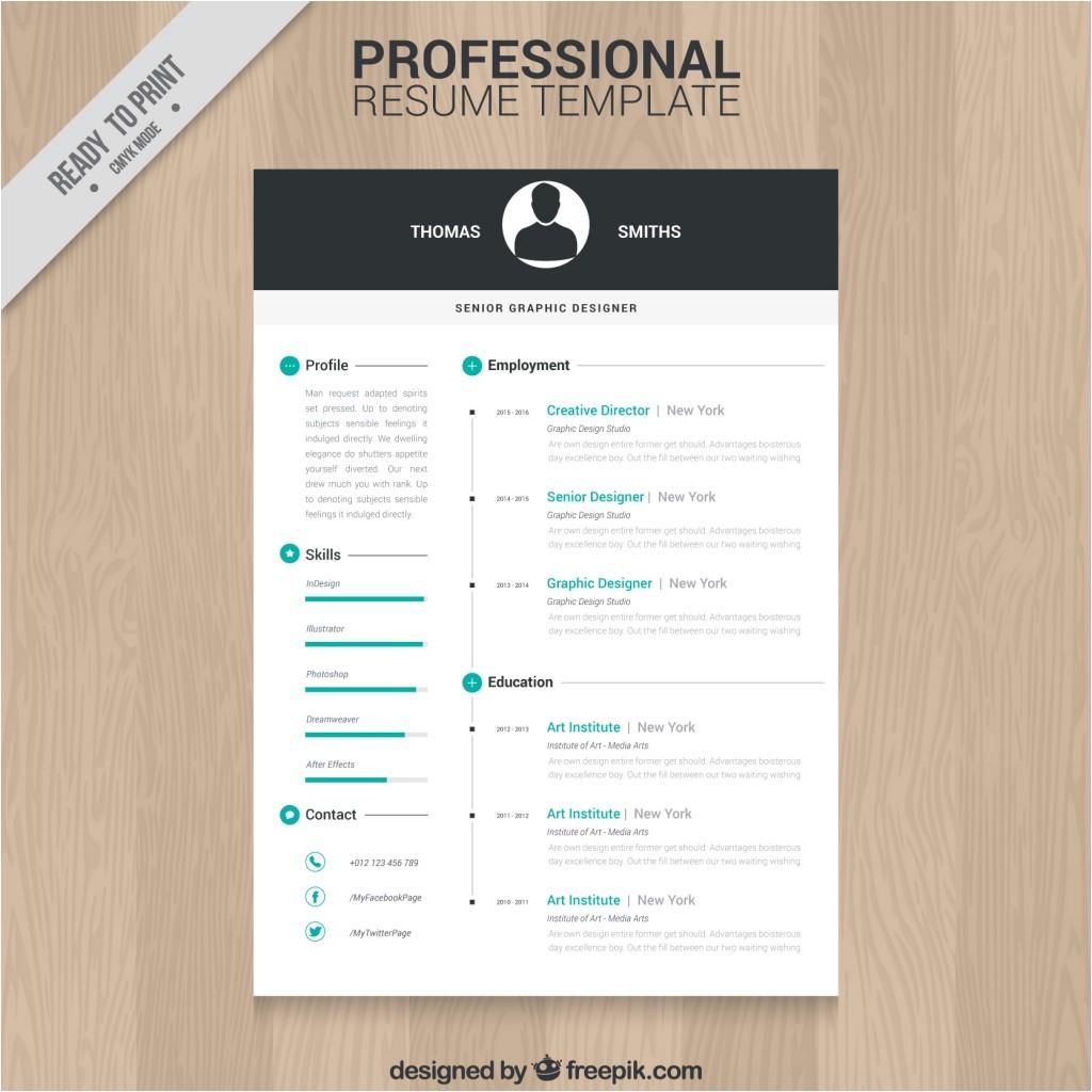 Free Resume Design Templates 10 top Free Resume Templates Freepik Blog