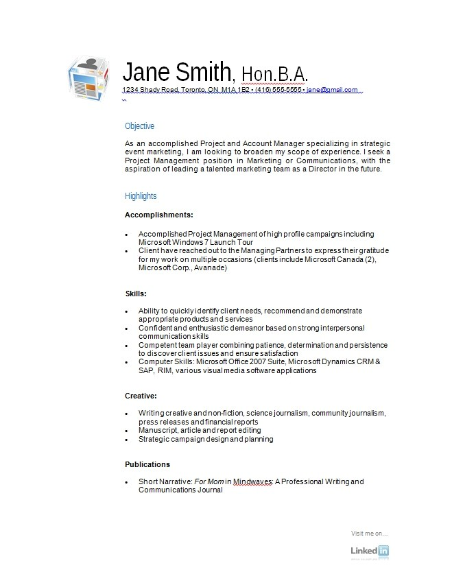 Free Resume Sample Templates Free Resume Samples A Variety Of Resumes