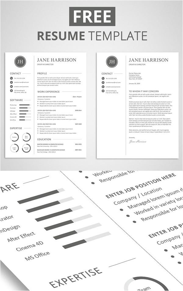 free cv resume templates psd