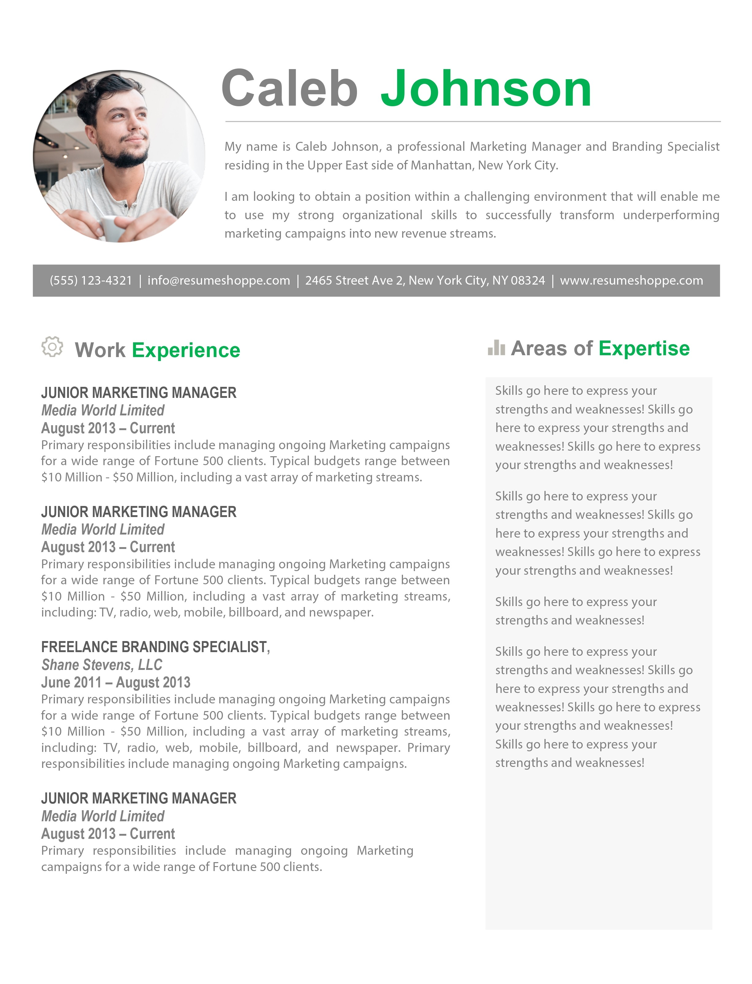 Free Resume Templates for Macbook Pro Free Resume Template for Macbook Pro